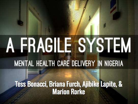 a fragile system